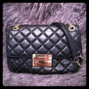 Michael Kors Sloan Quilted Chain Purse